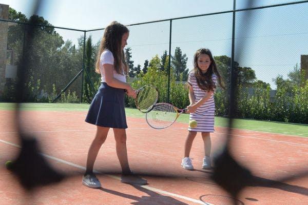 tennis holidays at the Sani Resort