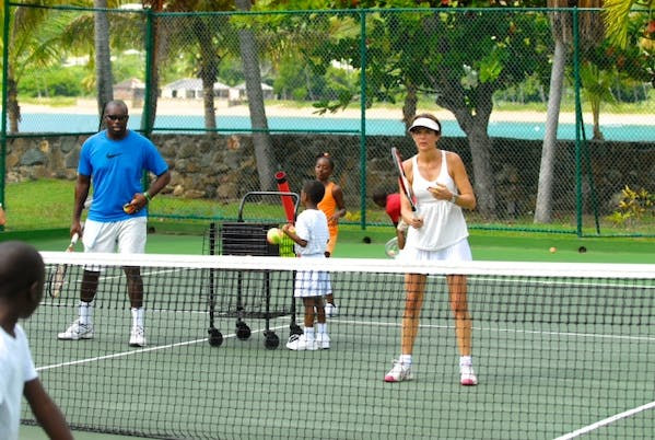 Curtain Bluff Tennis Holidays