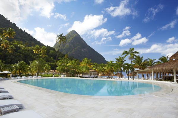 Poolside Sugar Bay St Lucia
