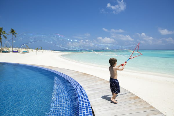 family holidays at Niyama