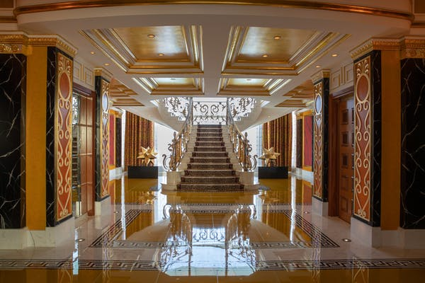 Royal Suite at the Burj Al Arab