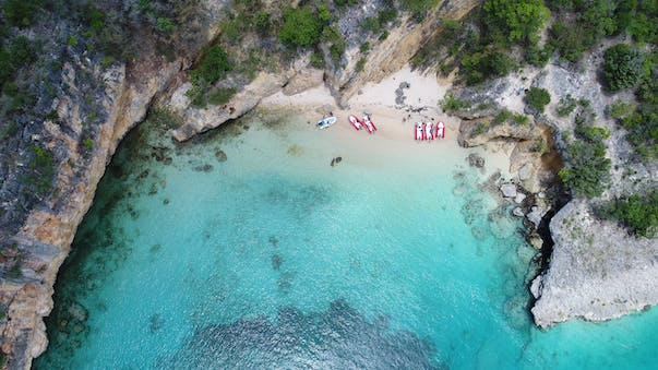 little bay in Anguilla