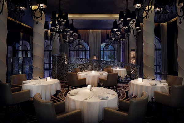 Dining at the One&Only Palm Dubai