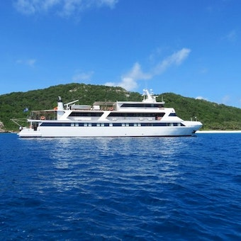 M V Pegasus - your floating hotel!