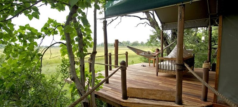 Accommodation on Botswana and Sanctuary Retreats: Safari Adventure tour