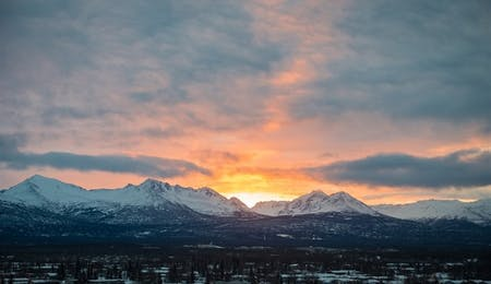 Sunrise Over Anchorage