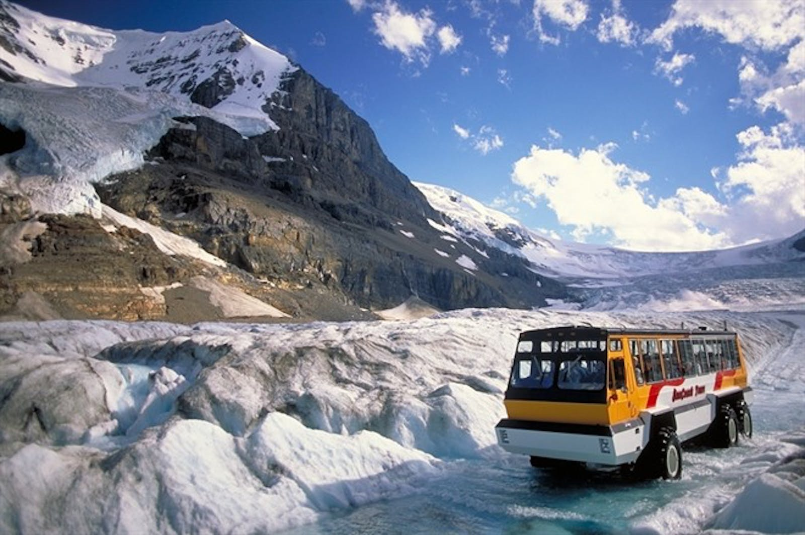 Ice Explorer Ride - Photo Courtesy Tourism Jasper