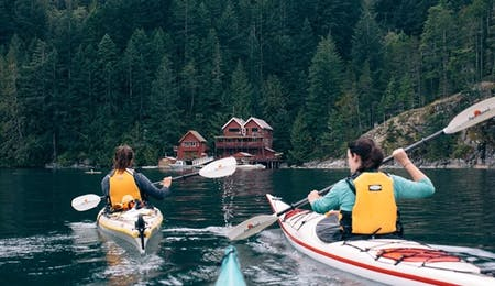 Quadra Island Kayaking - Photo Credit - Destination BC/Graeme Owsianski
