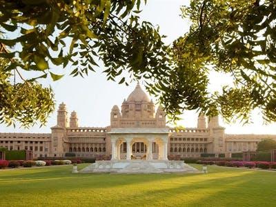 Taj Umaid Bhawan Palace Exterior
