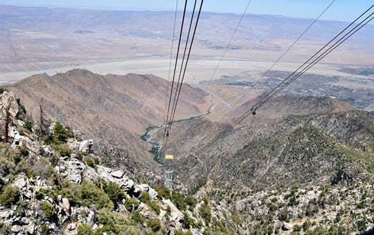 Views From Palm Springs Aerial Tramway