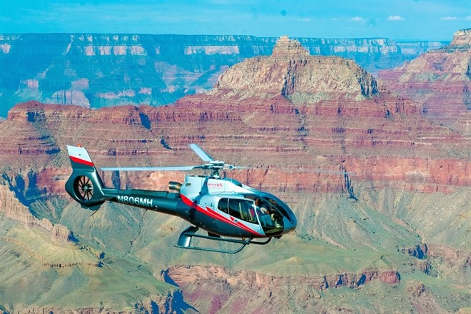 South Rim Flight With Maverick Helicopters