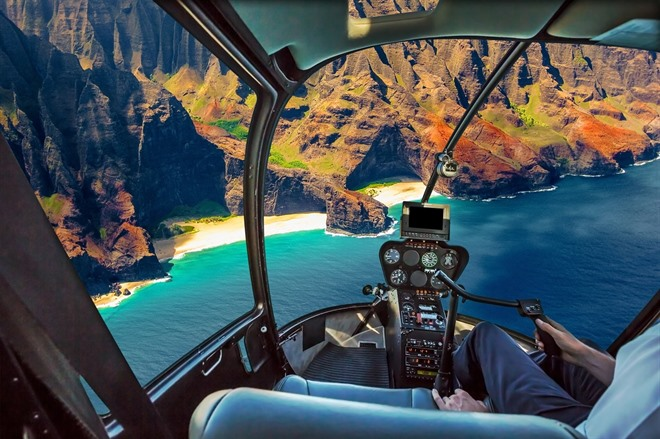 Optional Helicopter Flight Over Na Pali Coast