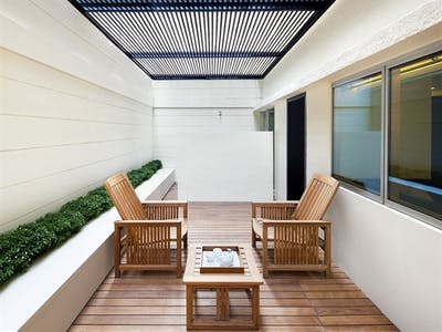 Terrace Rooms