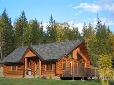 One Bedroom Log Suite