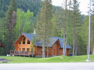 Two Bedroom Family Log Home