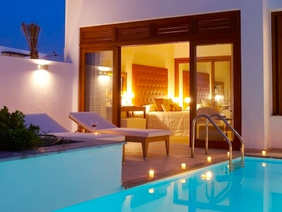 Creta Dream Villa with Courtyard, Sea View and Private Heated Pool
