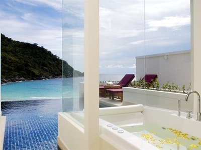 Grand Pool Suite (93 m/sq excluding private pool and terrace)