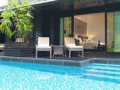 Luxury Pool Access Rooms