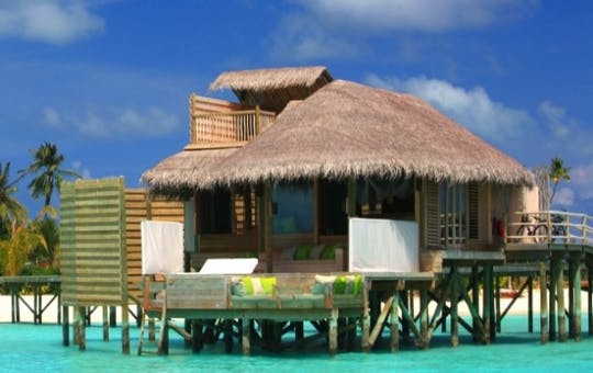 Lagoon Water Villa or Ocean Water Villas
