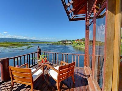 Villa in the Lake