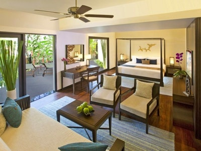 Royal Garden View Suite