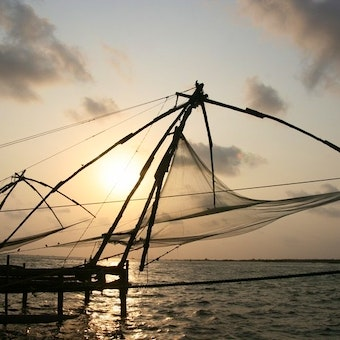Fishing net, Cochin