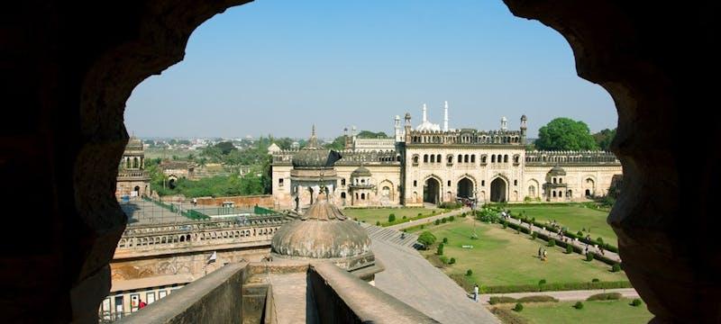 Bara Imambara gates, Lucknow