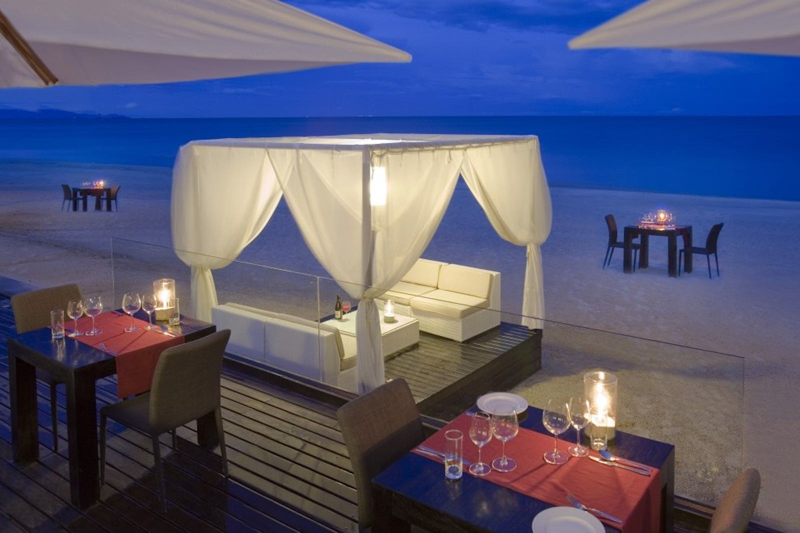 Beach Dinner at Aava Resort & Spa