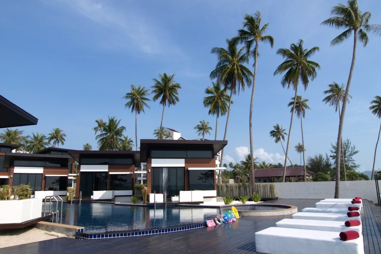 Pool Deck at Aava Resort & Spa