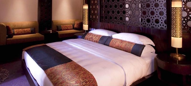 Al Rimal Deluxe Pool Villa Bedroom