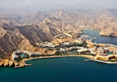 View of Resort at Shangri La Barr Al Jissah Resort & Spa, Oman - Al Waha