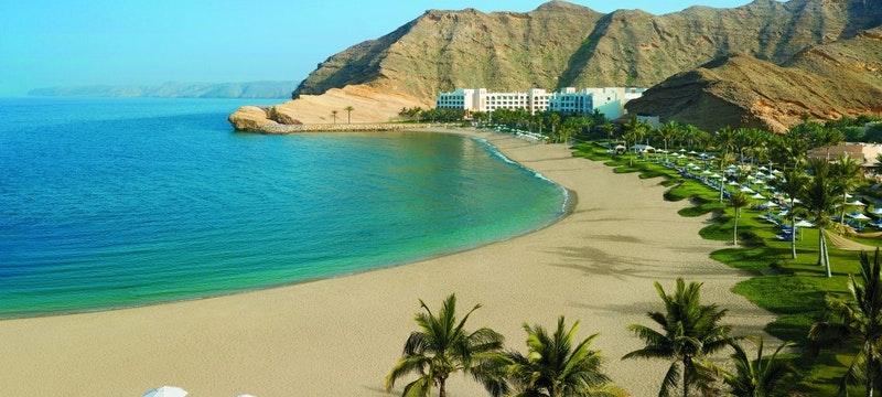 Al Waha and resort beach