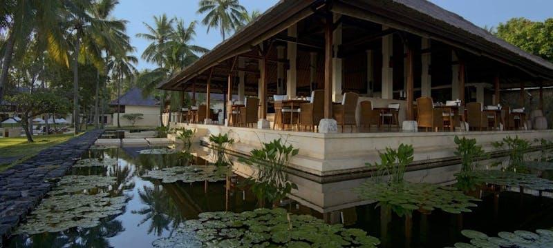 Seasalt Restaurant  at Alila Manggis, Bali