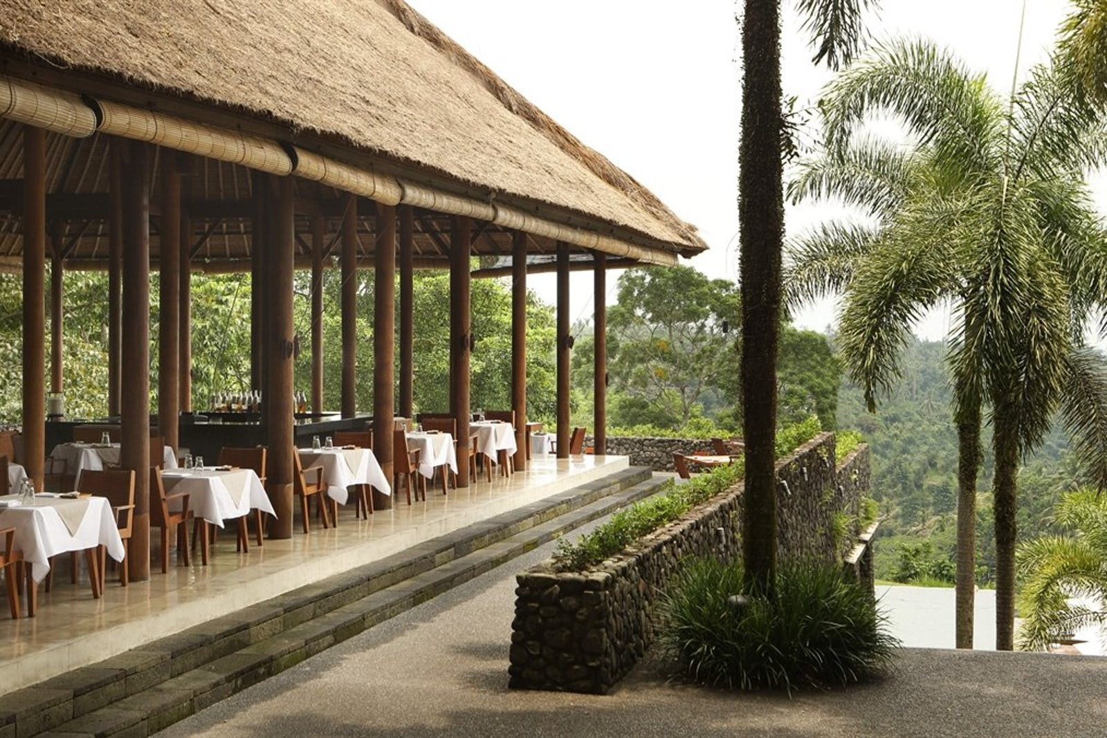 Plantation Restaurant at Alila Ubud, Bali
