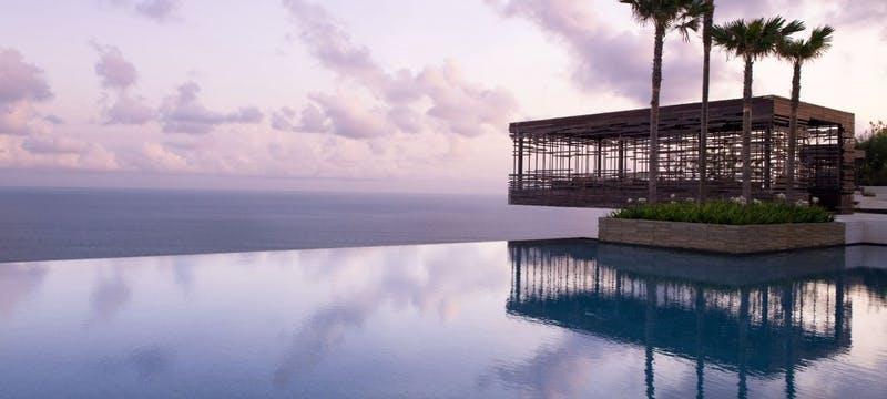 Cliff-Edge Sunset Cabana at Alila Villas Uluwatu, Bali