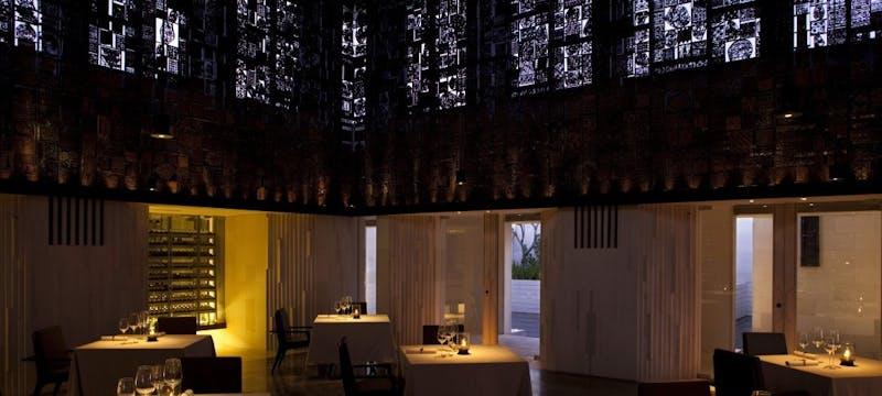 Cire Restaurant Wine Room at Alila Villas Uluwatu, Bali