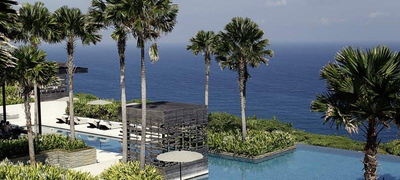 Main Swimming Pool at Alila Villas Uluwatu, Bali