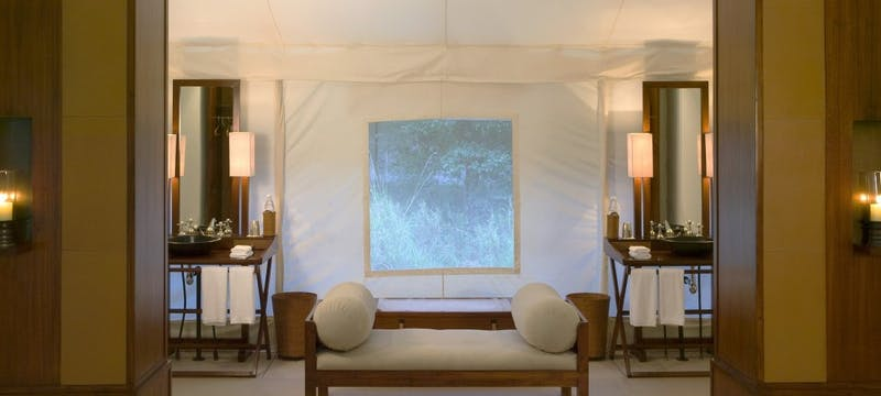 Tent Dressing Area
