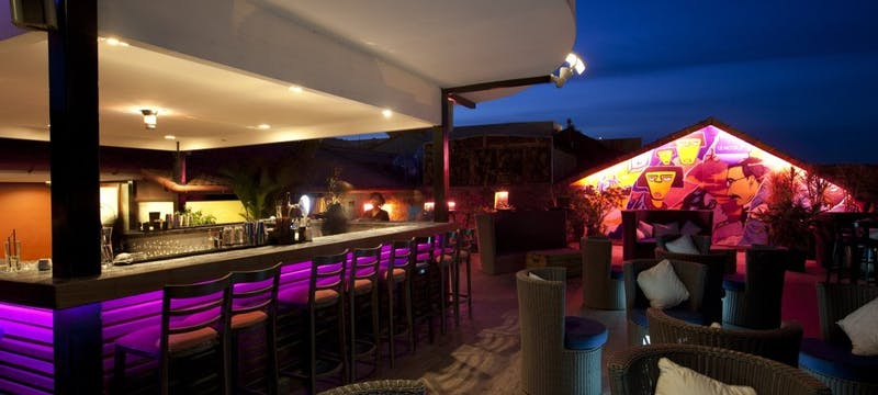 Le Moon Terrace Bar at Amanjaya Pancam Hotel, Cambodia