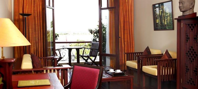 Junior Suite at Amanjaya Pancam Hotel, Cambodia