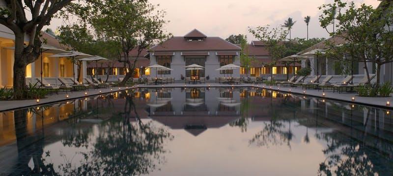 Swimming Pool at Amantaka, Laos