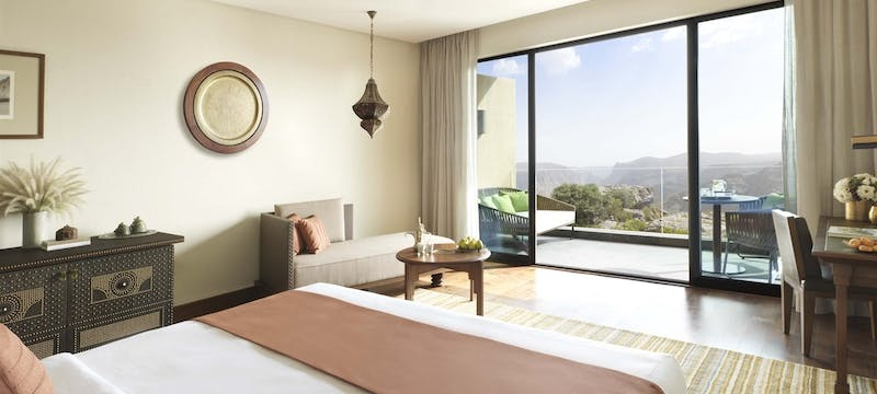 Canyon View Bedroom at  at Anantara Al Jabal Al Akhdar