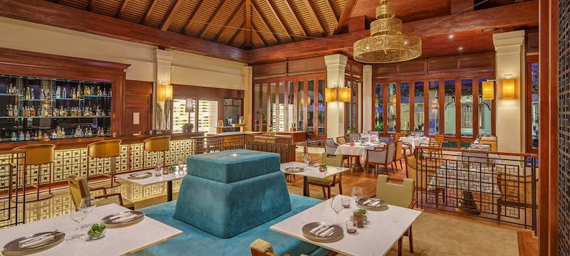Restaurant at Anantara Angkor Resort, Cambodia