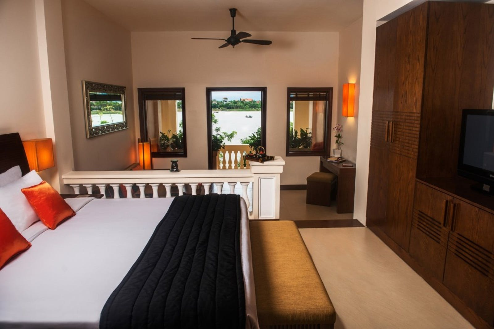Junior River View suite at Anantara Hoi An Resort