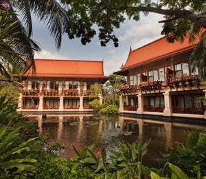 Lagoon Room Exterior at Anantara Hua Hin Resort