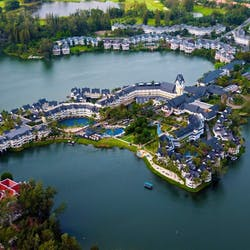 Aerial View at Angsana Laguna Phuket