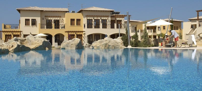 Apartments with shared pool