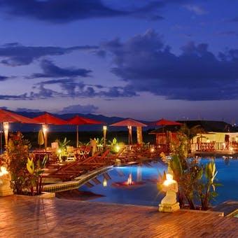 Swimming Pool Area at Aureum Palace Resort & Spa Inle