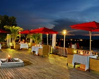 Open Air Dining at Aureum Palace Resort & Spa Inle