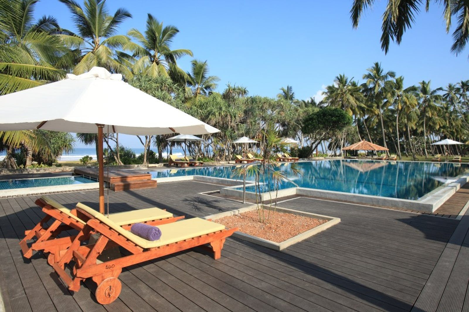 Swimming pool at Avani Bentota, Sri Lanka